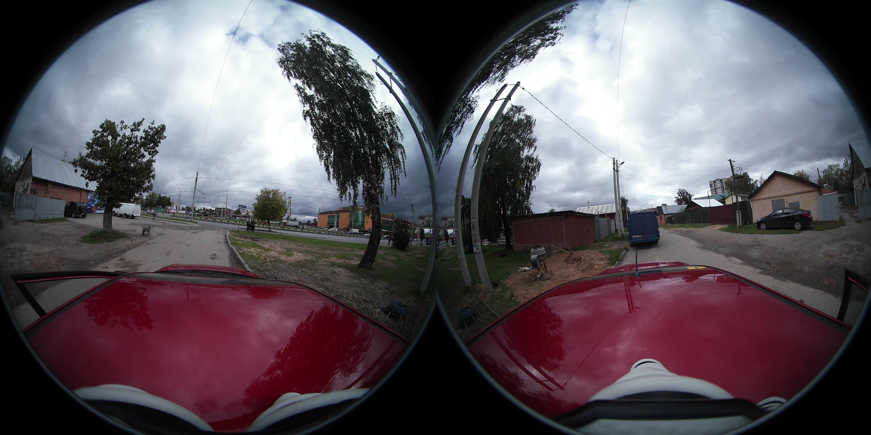 Сферическая панорама без дырки iphone
