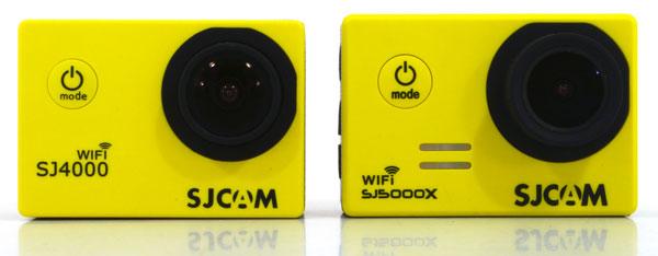 Экшн-камеры SJCam SJ4000 WiFi и SJ5000X