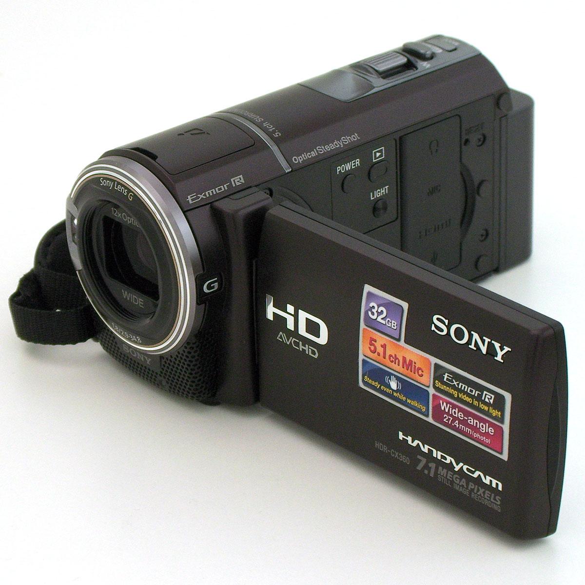 Видеокамера hdr cx360e sony canon сервисный центр подольск