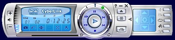 Стандартный интерфейс PowerDVD 5