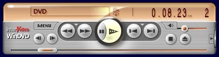 Стандартный интерфейс WinDVD 6