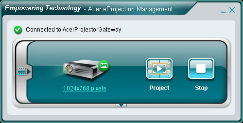 Acer eProjection Management
