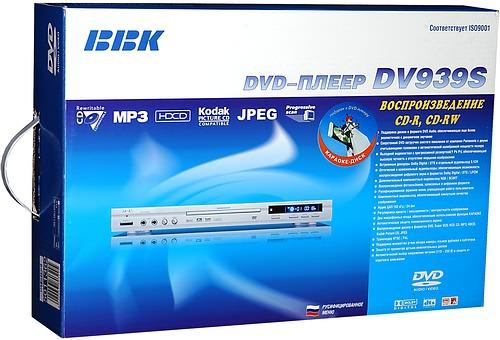 dvd плеер bbk dv112si c караоке: