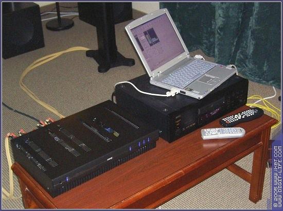 Это аудио-компьютер с программой, специально предназначенной для