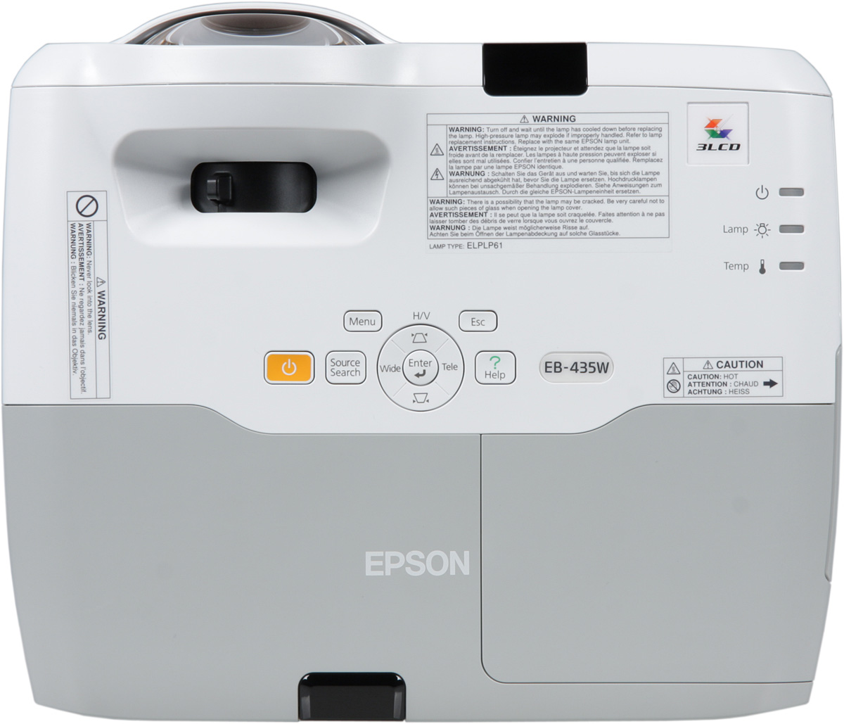 Lcd Epson Eb 435w S300 Projector