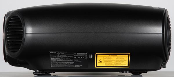 Проектор Epson EH-LS10000, левая поверхность