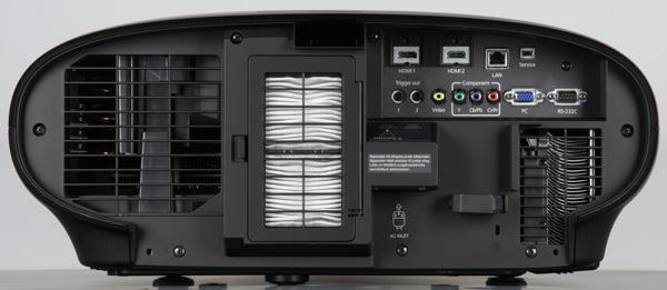 Проектор Epson EH-LS10000, задняя поверхность