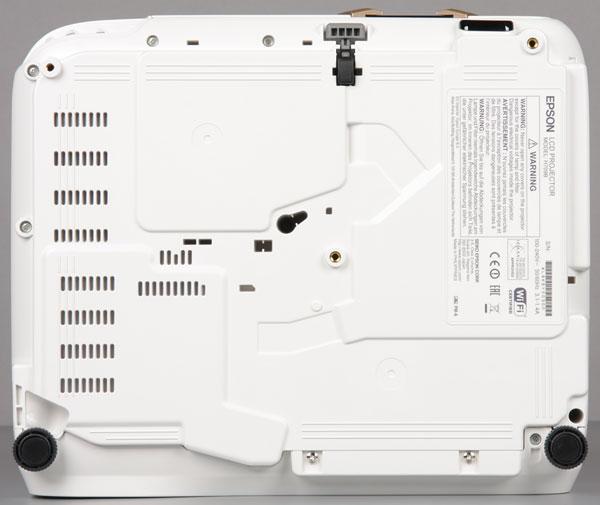 Проектор Epson EH-TW5350, нижняя поверхность