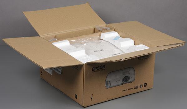 Проектор Epson EH-TW5350, коробка