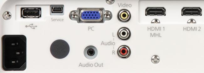 Проектор Epson EH-TW5350, интерфейсы