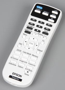 Проектор Epson EH-TW5350, пульт ДУ