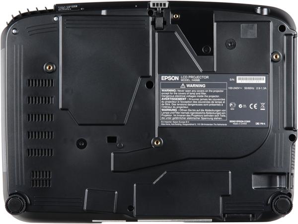 Проектор Epson EH-TW550, днище