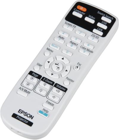 Проектор Epson EH-TW550, пульт ДУ