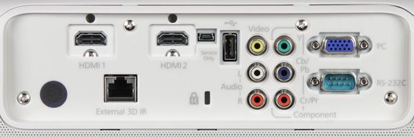 Проектор Epson EH-TW5900, интерфейсы