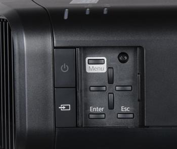 Проектор Epson EH-TW9200, кнопки управления
