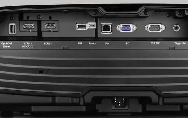Проектор Epson EH-TW9300, интерфейсы