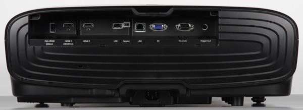 Проектор Epson EH-TW9300, задняя поверхность