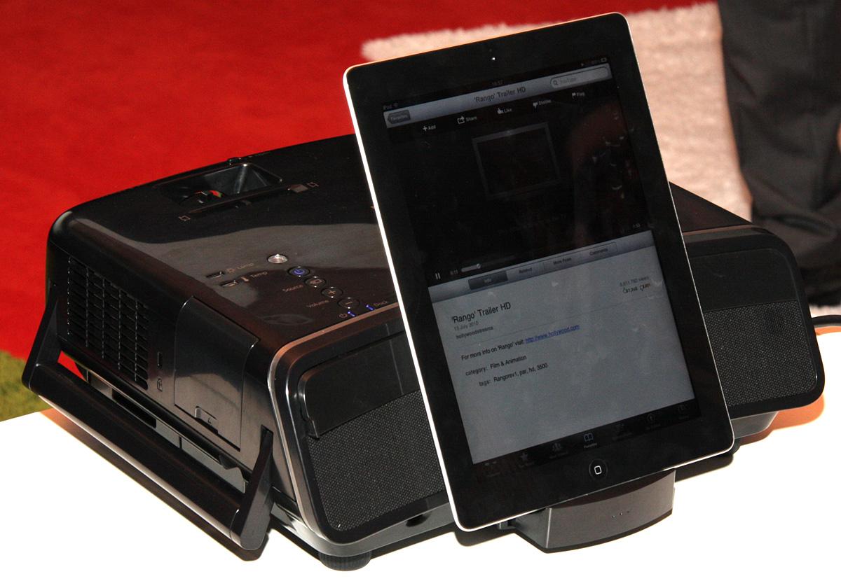 Ifa 2011 новые домашние проекторы epson