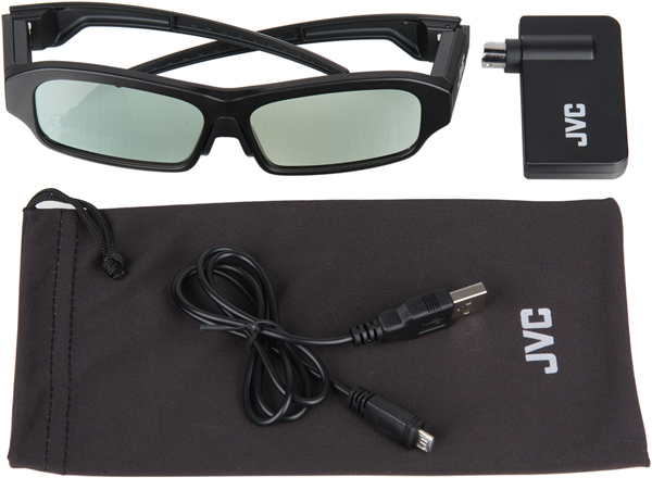 Проектор JVC DLA-X95RBE, 3D-комплект