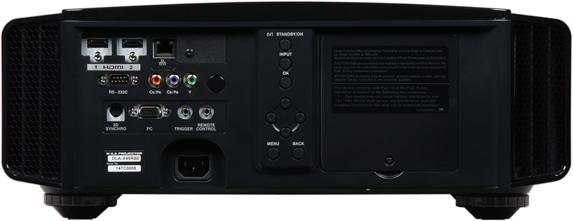 Проектор JVC DLA-X95RBE, задняя поверхность