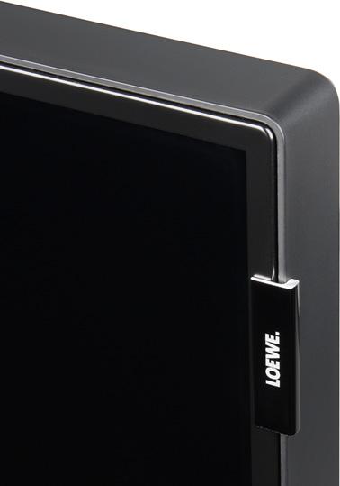 ЖК-телевизор Loewe One 40. Угол