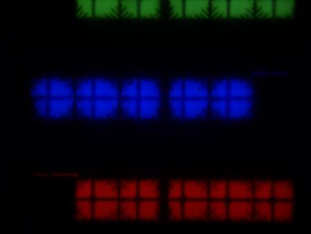 ЖК-телевизор Loewe One 40, Микрофотографии матрицы