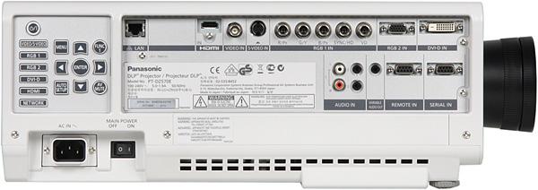 Проектор Panasonic PT-DZ570E, правая поверхность