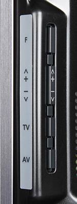 Плазменный телевизор Panasonic Viera TX-PR50GT30, кнопки управления
