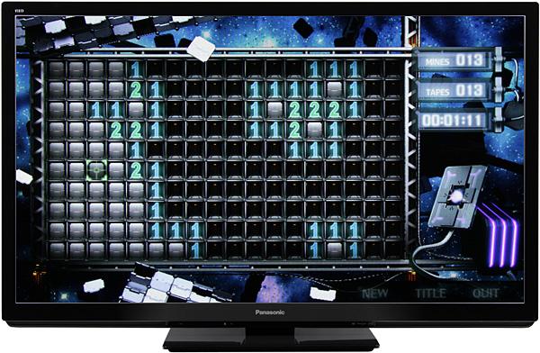 Плазменный телевизор Panasonic Viera TX-PR50GT30, вид спереди
