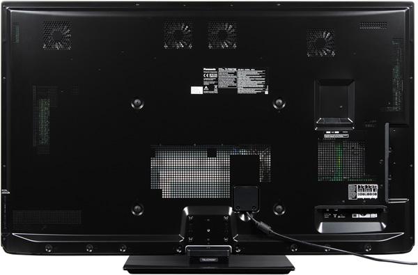 Плазменный телевизор Panasonic Viera TX-PR50GT30, вид сзади