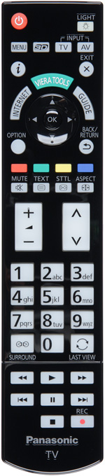 Плазменный телевизор Panasonic VIERA TX-PR50VT50, Пульт ДУ