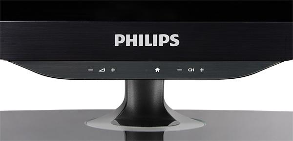ЖК-телевизор Philips 40PFL6606H/12, кнопки управления