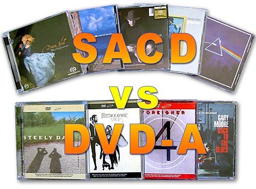 Sacd Vs Dvd Audio High Definition Formats Evaluation