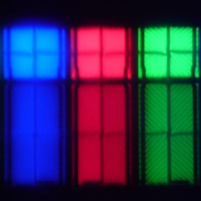 ЖК-телевизор Samsung UE55KS8000U, Микрофотографии матрицы