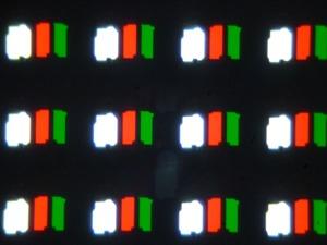 OLED-телевизор Sony Bravia KD-55A1. Микрофотографии матрицы