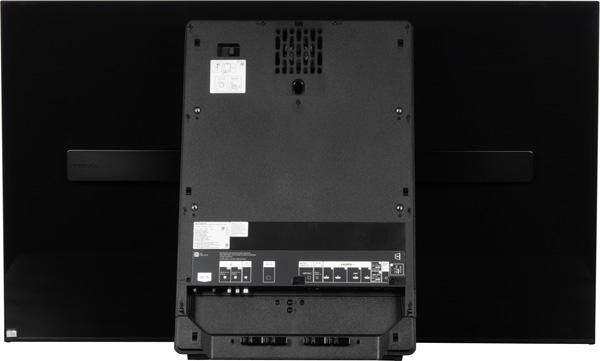 OLED-телевизор Sony Bravia KD-55A1, вид сзади