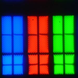 ЖК-телевизор Sony KD-55XD9305, Микрофотографии матрицы
