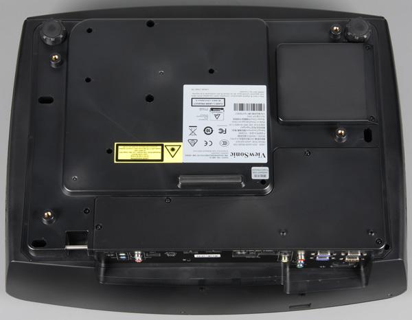 DLP-проектор ViewSonic LS830, вид снизу