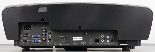 DLP-проектор ViewSonic LS830, вид спереди