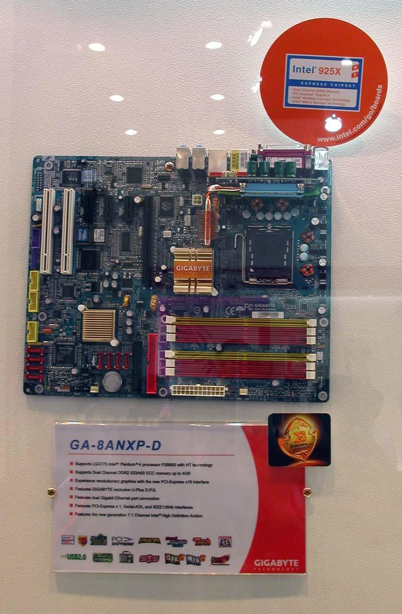 Gigabyte ga-8i915p-mf (rev20), упаковка