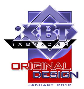 Original Design — награда нашего сайта за оригинальный дизайн модели