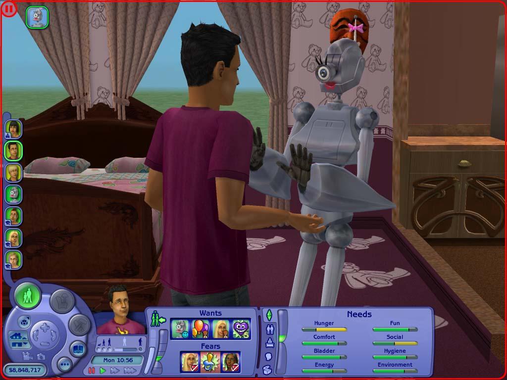 Sims 2 настоящий секс