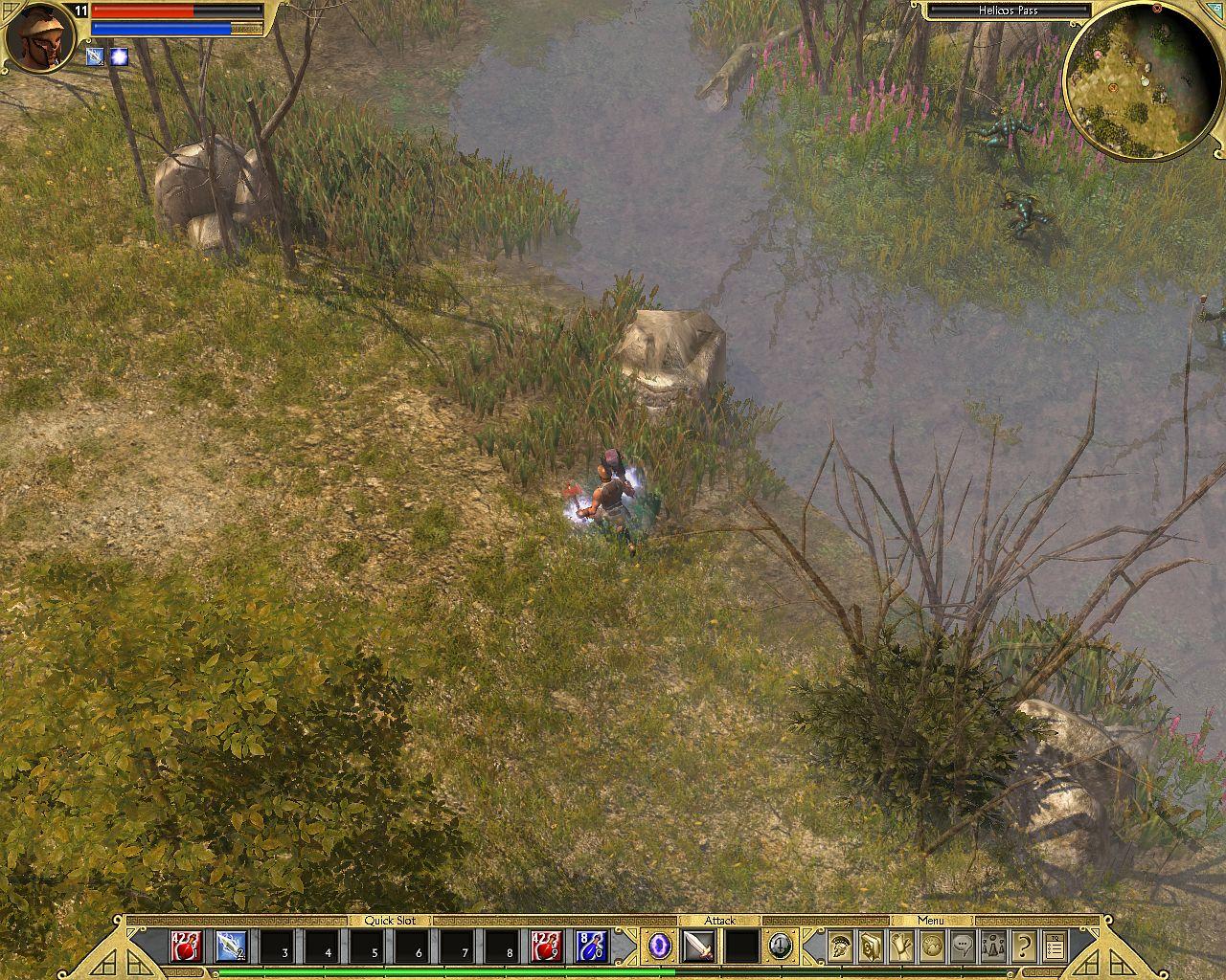 Titan Quest + адд-он Immortal Throne  Action RPG для любителей