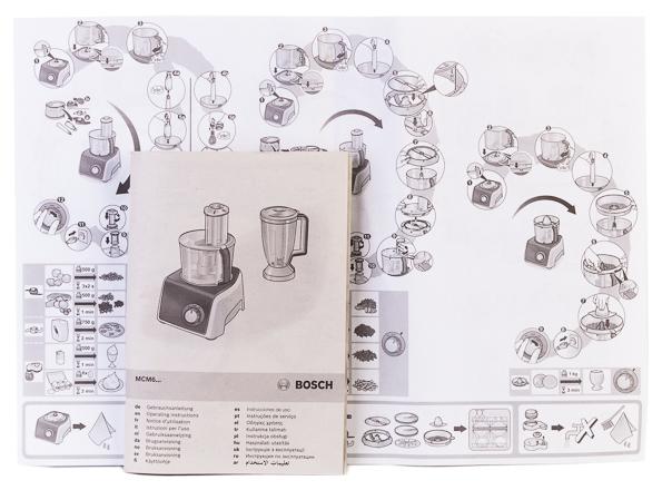 кухонный комбайн Bosch Mcm68840 не во всем идеальный но в целом