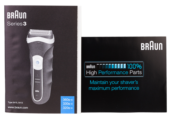 braun series 3 instruction manual