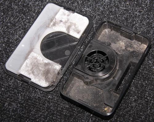 Clever&Clean Slim-series VRpro 01. Тест уборки