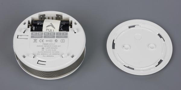 Конструкция Fibaro Smoke Sensor