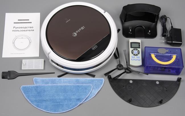 iBoto Aqua X310, набор аксессуаров