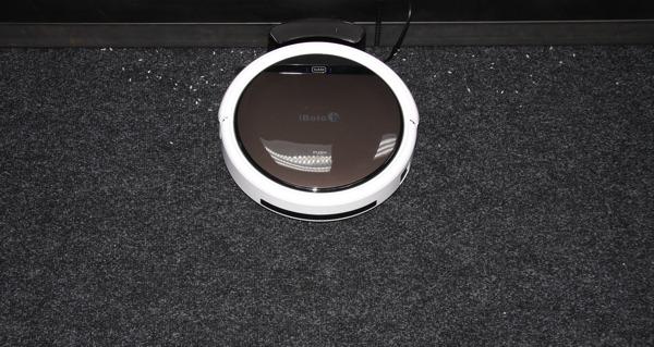 iBoto Aqua X310, тест уборки