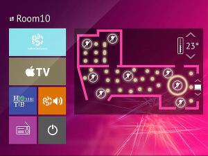 Интерфейс BeeToo GUI системы iRidium